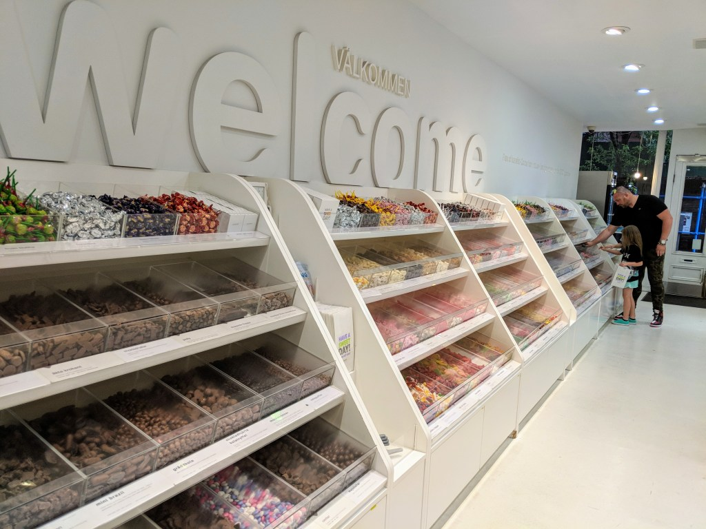 Sockerbit candy store NYC