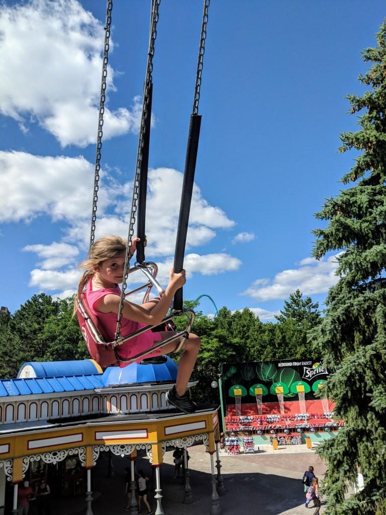 Swings height Canada's Wonderland