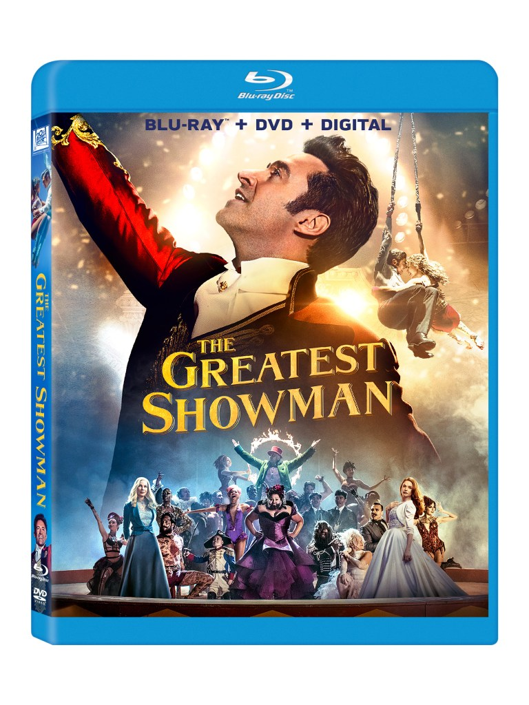 greatest showman DVD
