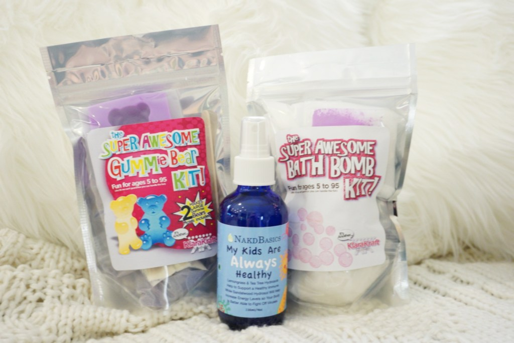 DIY gummy bear kit