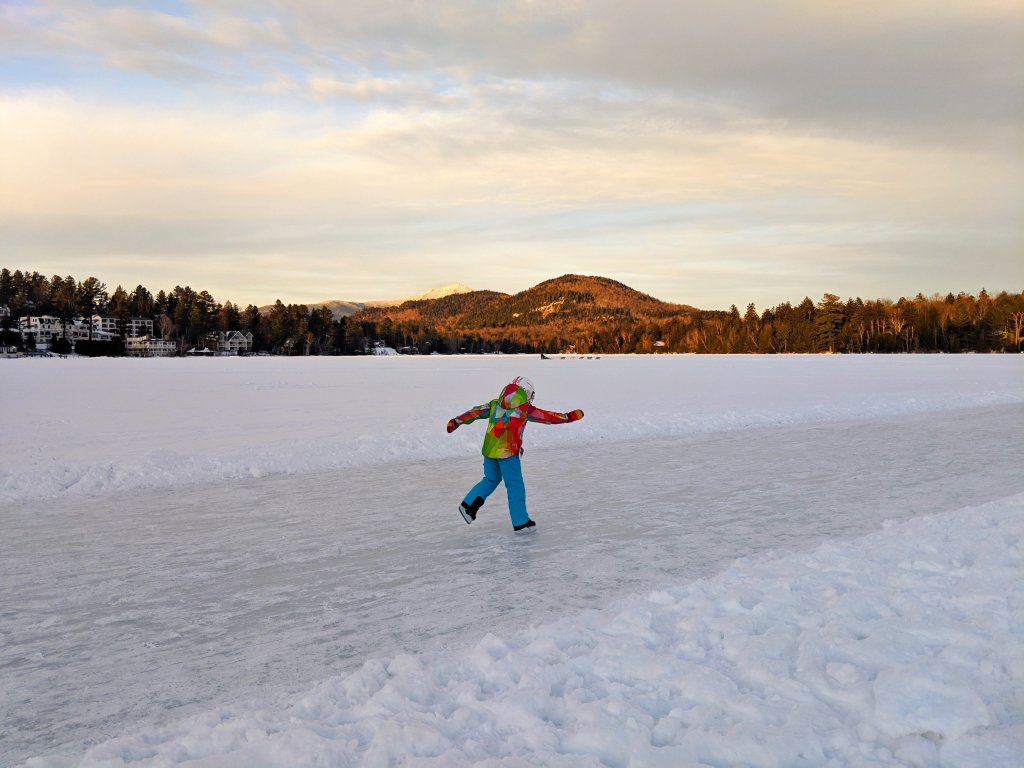 ice skating lake placid