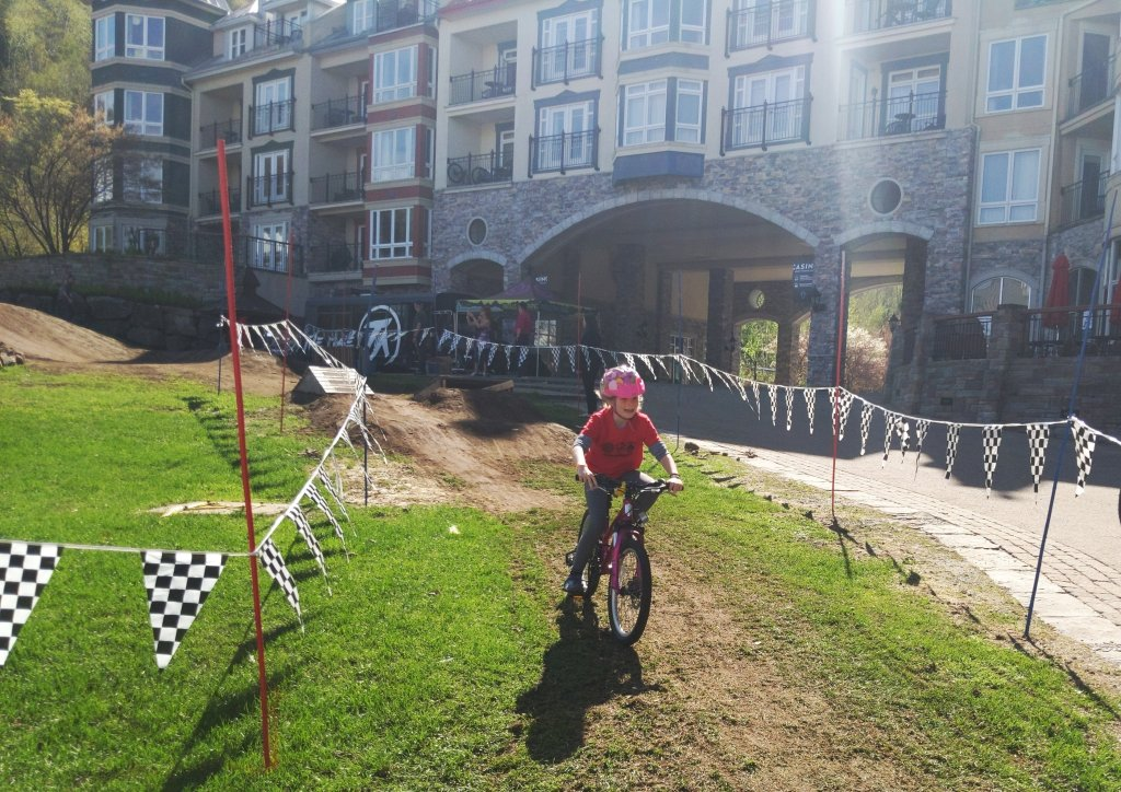 bike camp for kids tremblant