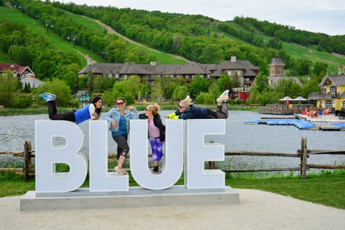 is blue mountain good for a girls weekend