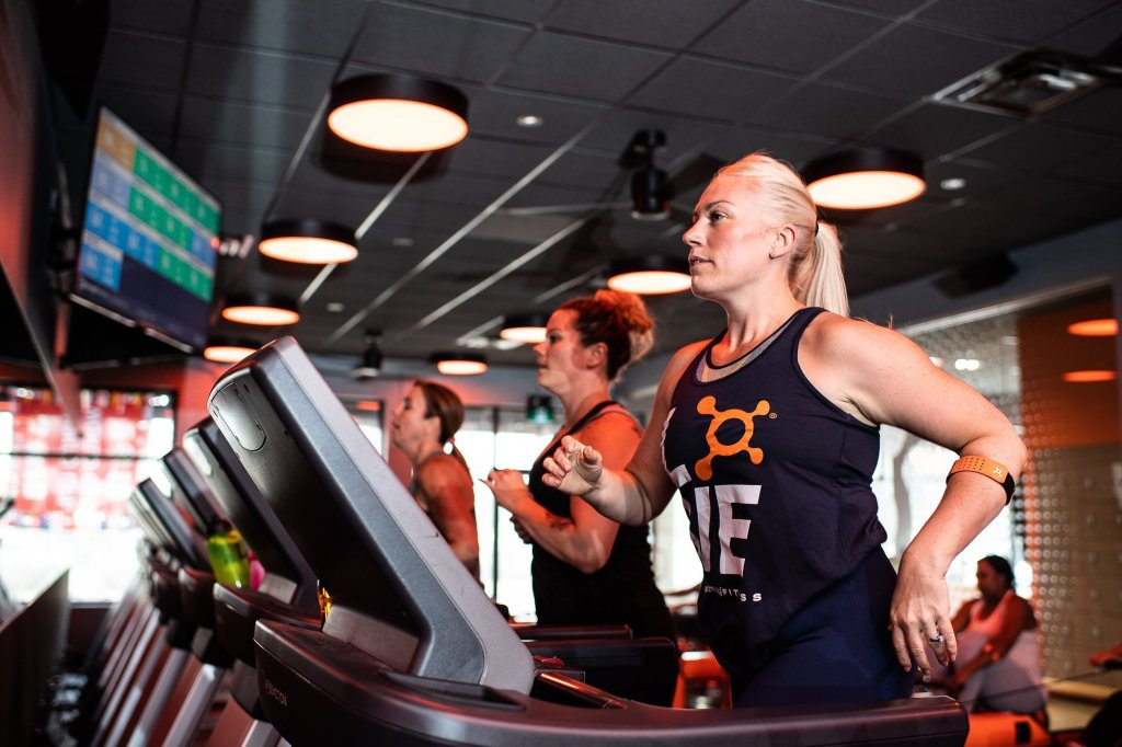 orangetheory heart-rate monitors