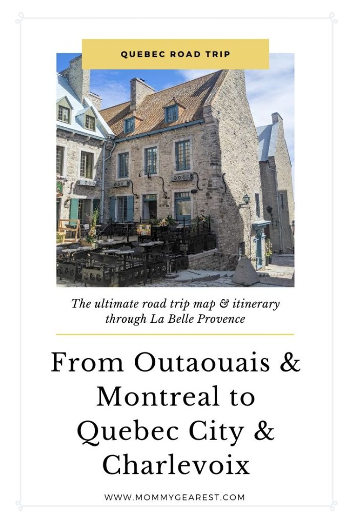 quebec road trip ideas