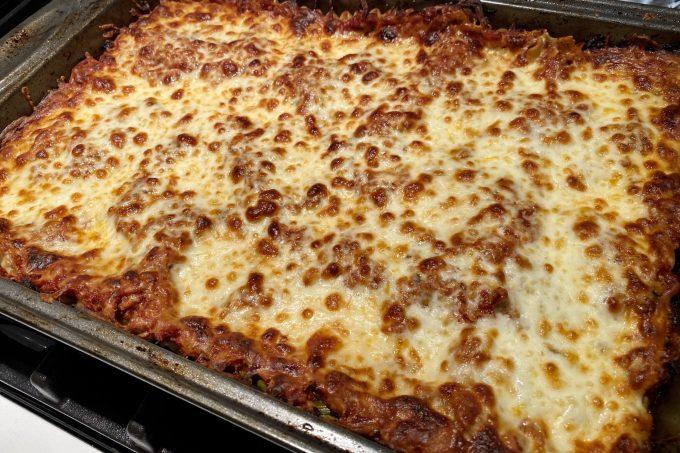 how to layer lasagna