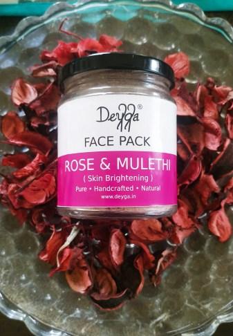 Deyga Rose and Mulethi Face Pack