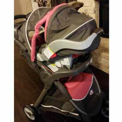 Graco Fastaction Fold Click Connect Travel System: