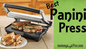 5 Best Budget Panini Presses for Your Kitchen in 2018