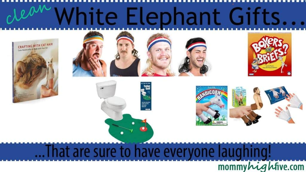 White Elephant Gift Party Guide for Christmas 2018