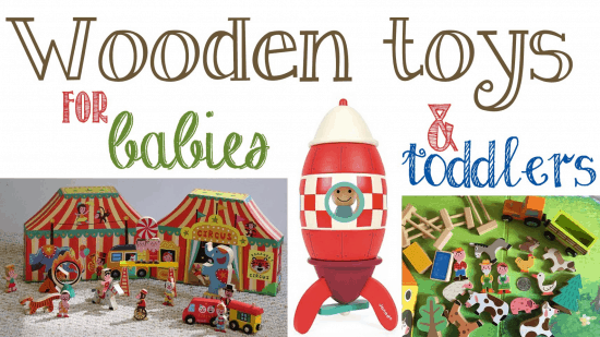 Top Wooden Toys for Young Toddlers and Babies
