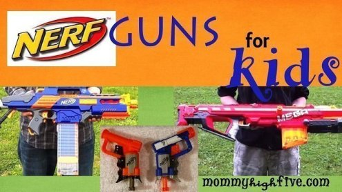 Top Kids Nerf Guns