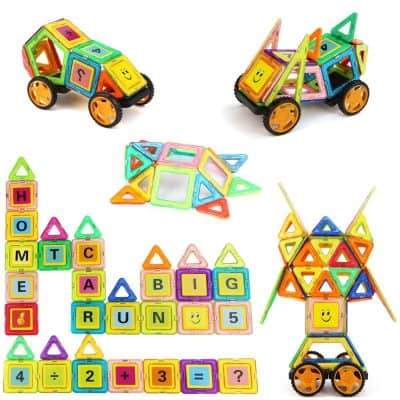 MIBOTE Magnetic Building Blocks for Kids