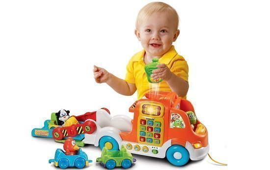 VTech Pull and Learn Car Carrier