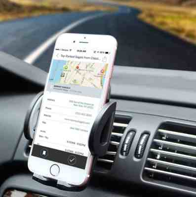 Beam Electronics Universal Smartphone Car Air Vent Mount Holder Cradle