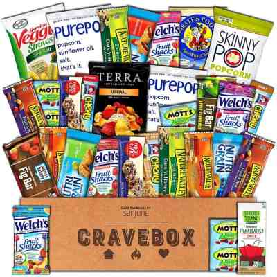 CraveBox - Healthy Snacks Care Package
