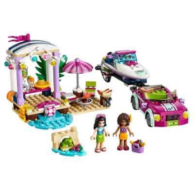 LEGO Friends Andrea's Speedboat Transporter 41316 Building Kit