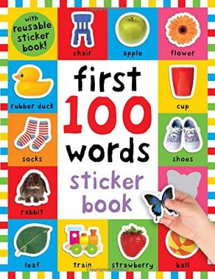 First 100 Words Sticker Book: Over 500 Stickers