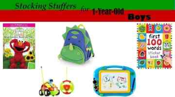 Stocking Stuffers and Budget Christmas Gifts for 1-Year-Old Boys