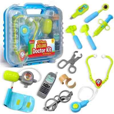 Kidzlane Durable Kids Doctor Kit with Electronic Stethoscope