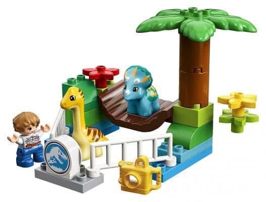 LEGO DUPLO Jurassic World Gentle Giants Petting Zoo 10879 Building Kit