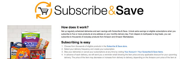 Amazon Subscribe & Save via My Favorite Money Saving Apps and Websites at Mommy: Home Manager