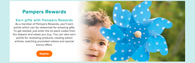 Pampers Rewards via Best Money Saving Apps and Websites at Mommy: Home Manager