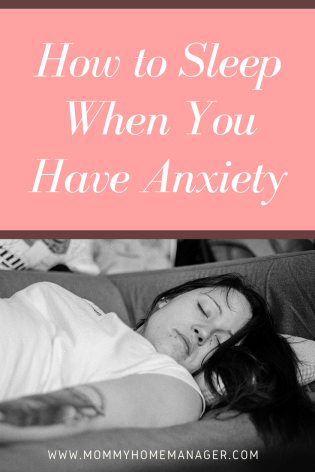 Whether you are regularly an anxiety sufferer or are suffering from postpartum anxiety, this post will give you ideas on how to relax for a better night's sleep.