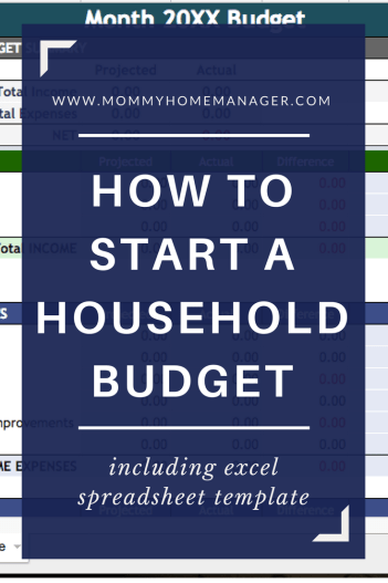 Starting a budget is the first step to getting your finances in check. Read this post to find out how to start a budget and get a template to get you started.