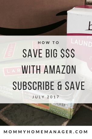 Amazon Subscribe and Save is a great way to save on diapers, snacks, coffee, personal care, and household items! Check out this post for the best discounts available for delivery in July.