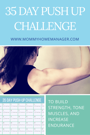 35 Day Pushup Challenge – Mommy: Home Manager