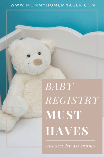 Every family has different needs when it comes to baby care, but there are some things you just must have on your baby registry. Here 40 moms share their favorite gift for their newborn.