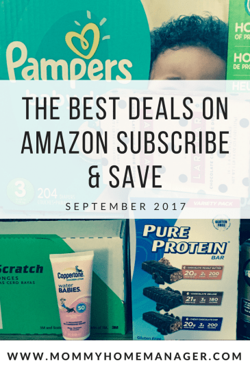 Amazon Subscribe and Save is a great way to save and find deals on diapers, snacks, coffee, personal care, and household items! Check out the best discounts available for delivery in September.