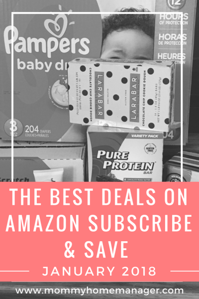 Do you know the best way to find deals on diapers, baby supplies, snacks, coffee, and household staples? Amazon Subscribe and Save! Check out the best #deals for November. #savings #diaperdeals #discount