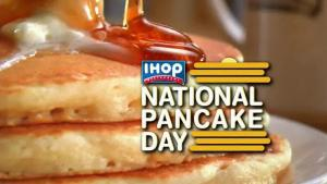 FREE Pancakes at IHOP for National Pancake Day (Multiple Locations)