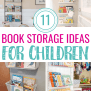 11 Clever Book Storage Ideas For Kids Mommyhooding