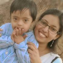 Ritu & her son!