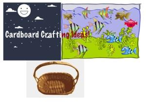 Cardboard crafts!