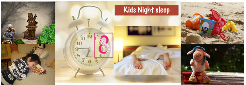Night sleep for children