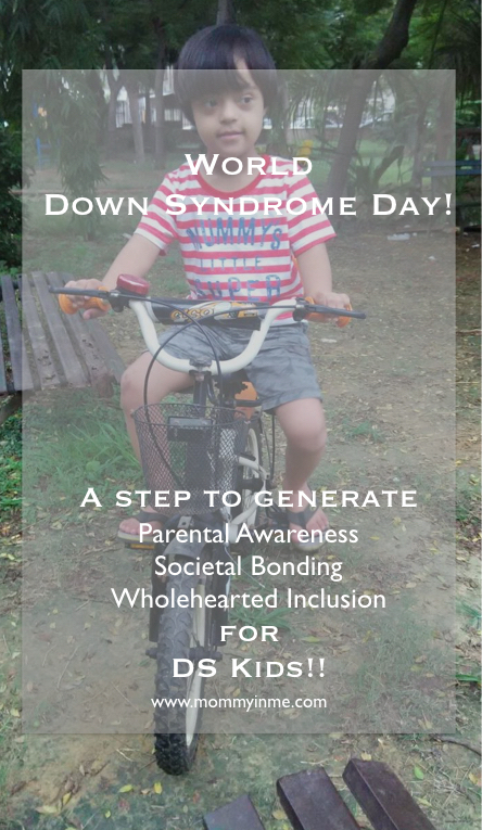 World Down Syndrome Day, 21 March, interview with mama of Down's Syndrome child