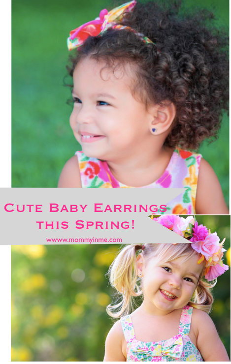 Cute baby earrings , earrings for babies with online shop #onlineshopping #babyearrings #earrings #cuteearrings