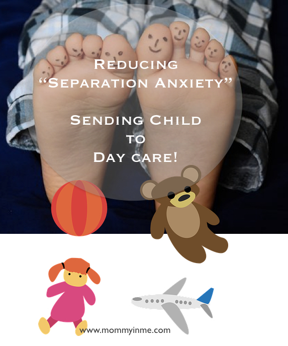 How to reduce Separation Anxiety while a child goes to the Day care for the first time #childcare #daycare #separationanxiety