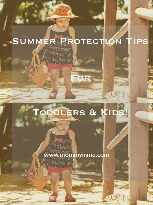 Summers are close by, are you aware of summer protection tips for your toddlers and kids? Are you looking for an answer to How to keep babies cool in summer, then read here. #summer #summerskincare #summerandbabies #sunprotection #protectkids