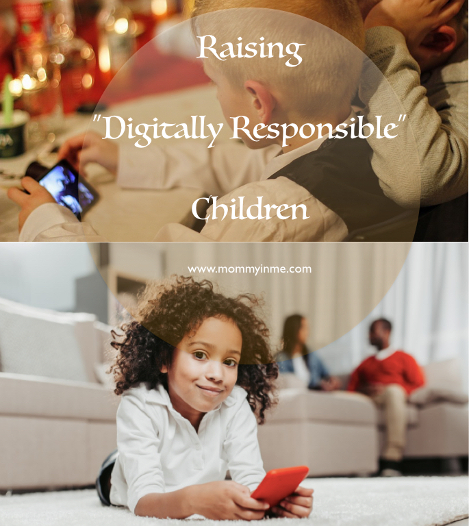 Its a Digital Era and whatsoever measure you may take you cannot keep children away from Online Social world. But are you raising Digitally responsible kids? #digital #digitalkids #parenting #parentingtips #mustread #onlineworld