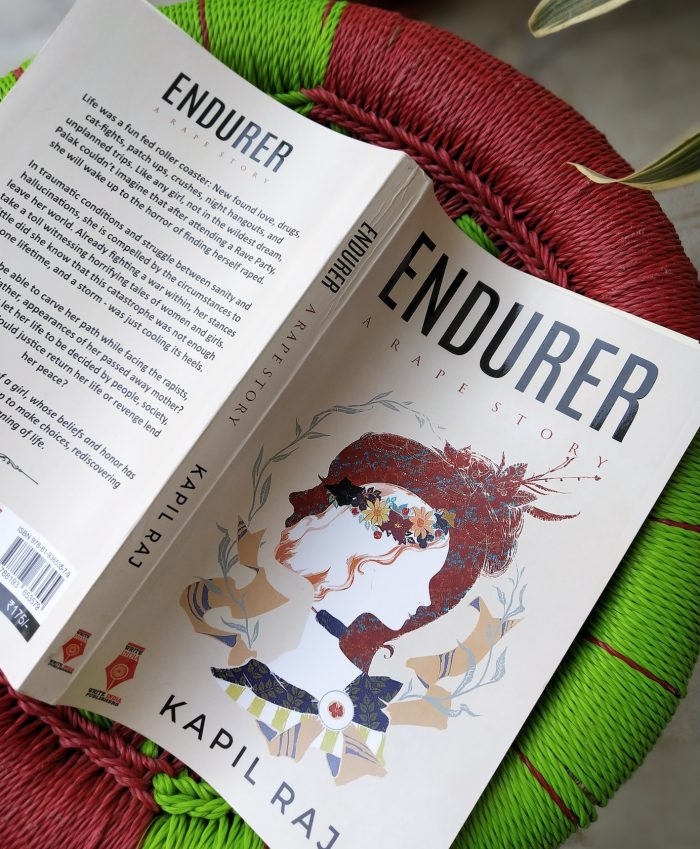 Here is a book review of the fictional work by Author Kapil Raj - Endurer . The book is from the perpective of a collge going happy girl who finds herself raped one night after a rave party. Read more #Bookreview #endurer #fiction #novel #goodreads #message #emotionalread
