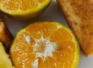 Baking with kids : Orange Cake