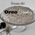 Yum-O Oreo Frosting!