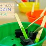 TEACHING TUESDAY: Frozen Paint
