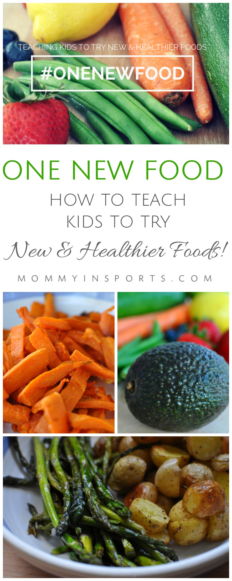 Do you struggle with meal times in your house? Most kids don't like new textures, sights, and smells on their plates. But trying this ONE NEW FOOD strategy really works. Do you need help with picky eaters? Start here!