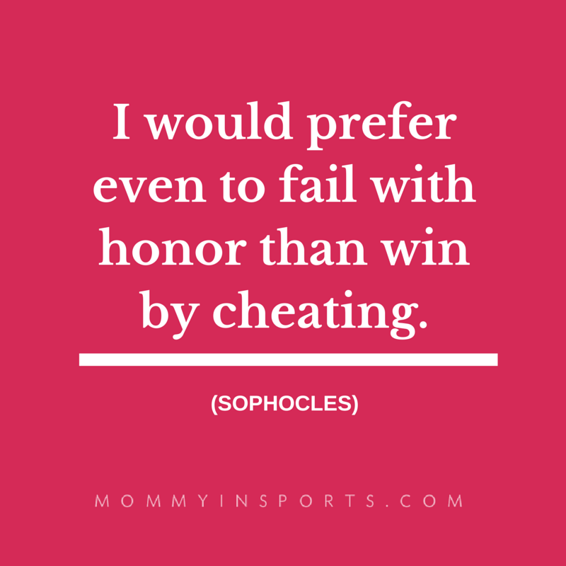 I would prefer even to fail with honor